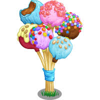 File 4th Birthday Cake Pop Tree icon