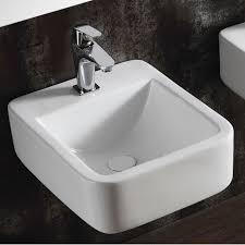 bad keramik waschtisch waschbecken handwaschbecken zur wandmontage 40261