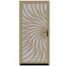 Unique Home Designs 36 In. X 80 In. Solstice Tan Surface Mount ... Examplary Home Designs Security Screen Doors Together With Window Best 25 Screen Doors Ideas On Pinterest Unique Home Designs Security Also With A Wood Appealing Beautiful Unique Gallery Interior Design Door Crafty Inspiration Ideas Meshtec Products Exterior The Depot Also For 36 In X 80 Su Casa Black Surface Mount Solana White Aloinfo Aloinfo Pilotprojectorg