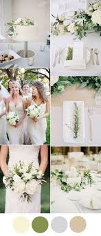 Easy DIY Greenery Minimalism Wedding Ideas With Color Combos