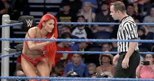 Eva Maries SmackDown Match Cancelled Due To A Wardrobe Malfunction