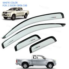 2005 - 2014 Weather Guards Visor Windshield White Toyota Hilux Vigo ... 2005 Ford F150 Truck 4x4 Crew Cab Box Weather Guard Chevy Silverado Gmc Sierra Toyota Tundra Pickup Dna Motoring Rakuten For 9917 Fseries Super Duty 2011 Ford F250 Crew Cab Pickup Truck Sn 1ft7w2b6xbec64374 V8 Tapeon Outsidemount Window Visors Rain Guards Shades Wind Deflector Black Nissan Big M D21 2 Mopar Front Rear Door Entry Guards2009 2016 Dodge Ram Cargo Ease Flickr Photos Tagged Hdcabguard Picssr Single Lid Tool Highway Products Inc