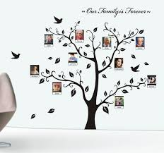 Tree Wall Decor Wood by Cool Trendy Wall Family Tree Wall Decal Wall Design Family Tree
