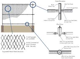 The Drawing Of Anti Climb Fence Installation Including Aarontrack Buying Guide Aarontrack Fence Components Finishes