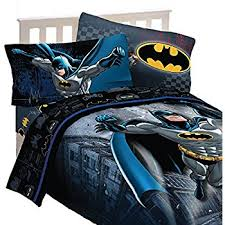 Amazon Batman 5pc Full forter and Sheet Set Bedding