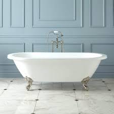 kohler villager white cast iron rectangular skirted bathtub weight