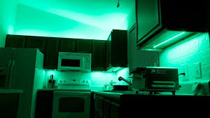 how to install above cabinet and cabinet led lighting using