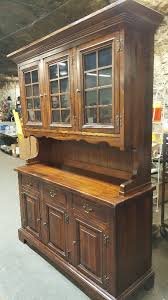 Beautiful China Cabinet Dining Or Living Room Hutch Buffet Top Comes Off By Sears Open Hearth Collection