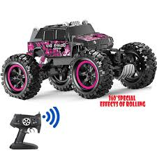 100 Waterproof Rc Trucks For Sale Amazoncom Remote Control Car Pink 360 Stunt Tumbling