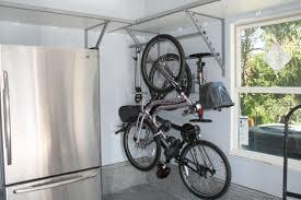 Ceiling Mount Bike Lift Walmart by Bikes Diy Outdoor Bike Storage Bike Storage Rack Bike Rack