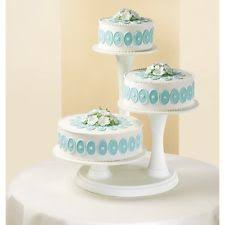 Wilton 307 350 3 Tier Pillar Style Cake And Cupcake Stand