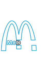 How To Draw McDonalds Company Logo