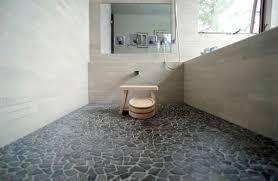 Stone Flooring Ideas Beautiful Style Of Japanese Bathroom Idea Traditional Bath With Pebble