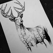Drawn Artwork Black And White 3