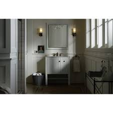 Kohler Tresham Sink Specs by Kohler K 5289 1wa Tresham Linen White Single Basin Bathroom