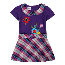 Brand Clothing 2016 Nova Summer Kids Children Short Sleeve Embroidery Flower Causal Dressgirl Dress Baby Girl Clothes Child Wear In Dresses From Mother
