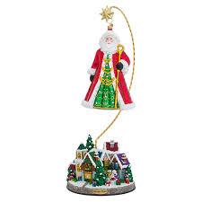 Christopher Radko Christmas Village Ornament Stand