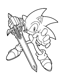 Endorsed Darkspine Sonic Coloring Pages Inspiring Silver The