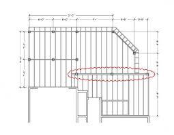 Floor Joist Spans For Decks by Deck Joist Spans 28 Images Flush Frame Deck Joist Span