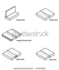 set woodworkingcarpentry joints stock vector 113278912 shutterstock