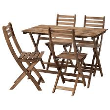 Ikea Edmonton Kitchen Table And Chairs by Askholmen Table And 4 Chairs Outdoor Ikea