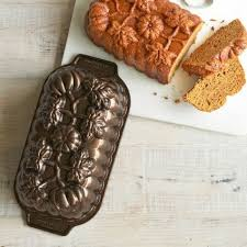 Nordic Ware Pumpkin Loaf Pan by Nordicware Pumpkin Patch Loaf Pan Seriously Any Of The Shapes