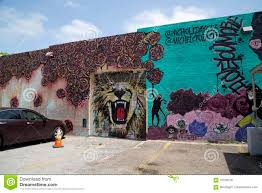 Deep Ellum Wall Murals nice colorful graffiti on the wall editorial stock image image