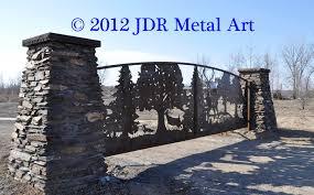 Wildlife Driveway Gates