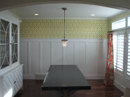 Diy Board And Batten Wainscoting Awesome Dining Room Perspective Looking