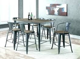 Bar Height Dining Table Set Cheap Kitchen Tables With Chairs Medium Size Rustic