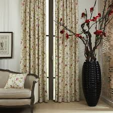 Jacobean Floral Country Curtains by Floral Window Treatments Sale U2013 Ease Bedding With Style