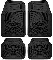 Truck Floor Mats For Toyota Tundra 4pc Set All Weather Rubber ...