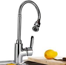 einzel küchen wasserhahn mit flexiblem hals 360 grad schwenkbar