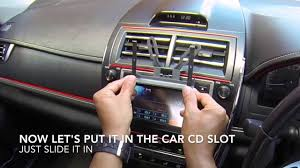 D I Y CD Slot Car Mount For Iphone and Smartphone Holder