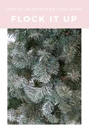 Flocked Artificial Christmas Trees Sale by Best 25 Cheap Artificial Christmas Trees Ideas On Pinterest