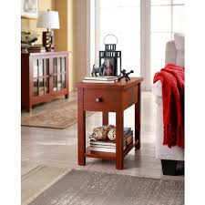 Cheap Sofa Table Walmart by Better Homes And Gardens Oxford Square End Table With Drawer Blue