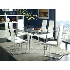 Best Dining Room Set Glass Top Furniture Sets Chrome Table Coaster 7