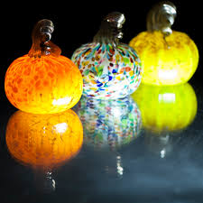 Glass Blown Pumpkins by October 7 11 00am Salado Glassworks