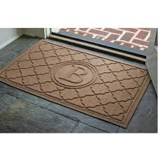 Waterhog Bombay Personalized Door Mat