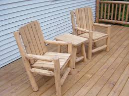 Outdoor Log Furniture Artistry