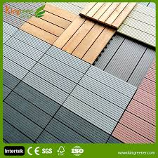 cheap non slip wood composite decking tiles recycled waterproof