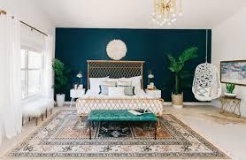 bleu chambre chambre mur bleu canard déco