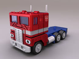 Toy Truck: Optimus Prime Toy Truck