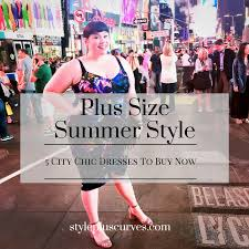 plus size summer style 5 fab dresses from city chic