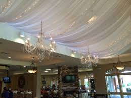 pipe and draping wedding wall draping cafe lighting twinkle