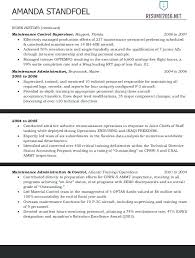 Government Job Resume Template Federal Sample Format