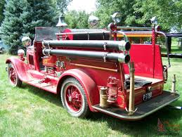 100 Ford Fire Truck 1928 Model AA Seagrave New Engine Restored Very Rare