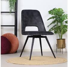 esszimmerstühle industrial style oder moderne samt stühle