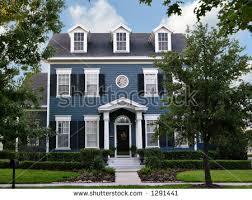 Pictures Small Colonial House by Colonial House Stock Images Royalty Free Images Vectors