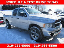 100 Used Dodge Truck 2005 Ram 1500 SLT For Sale In Waterloo IA VIN
